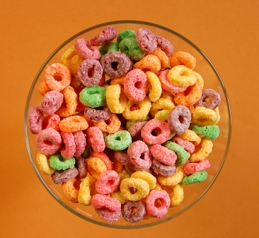sugar and cereal