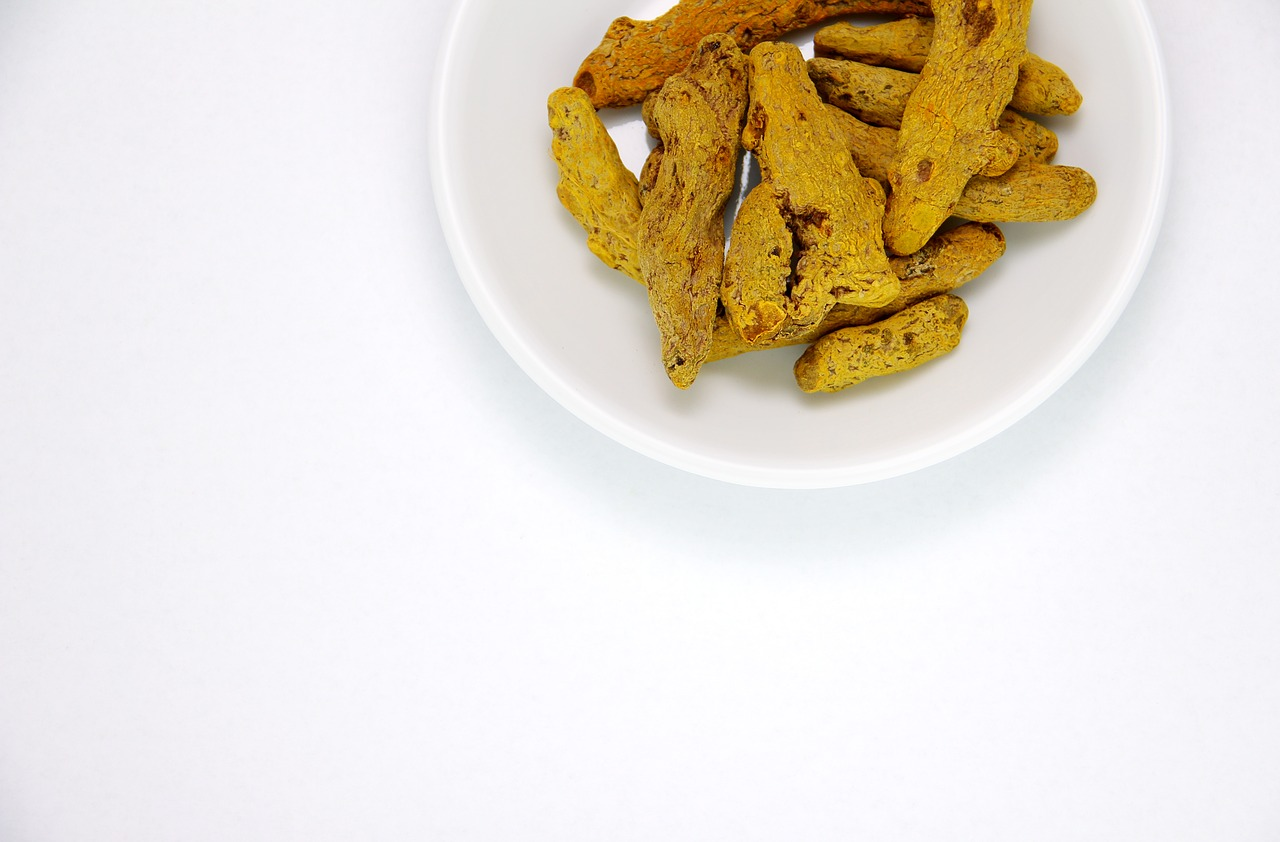 turmeric root nervous system