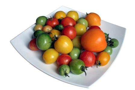 organic tomatoes taste better
