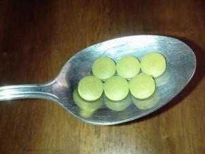 chlorella and hepatitis