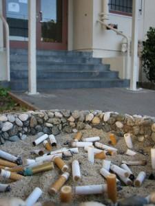 fiber and secondhand smoke