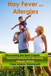 Natural relief for hay fever and allergies by Case Adams Naturopath